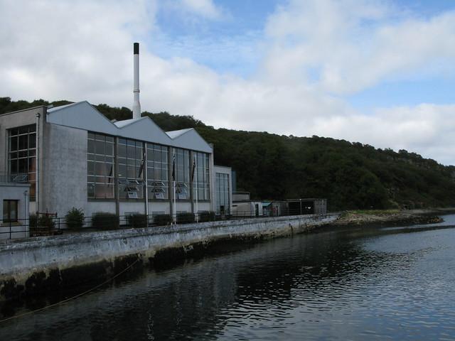 Caol Ila distillery - still house
