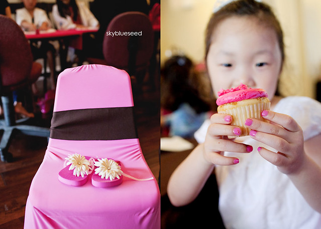 Chair and Cupcake
