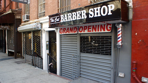The Cut, a New Barber Shop