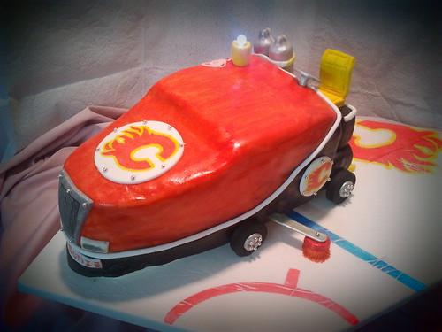 ZAMBONI cake