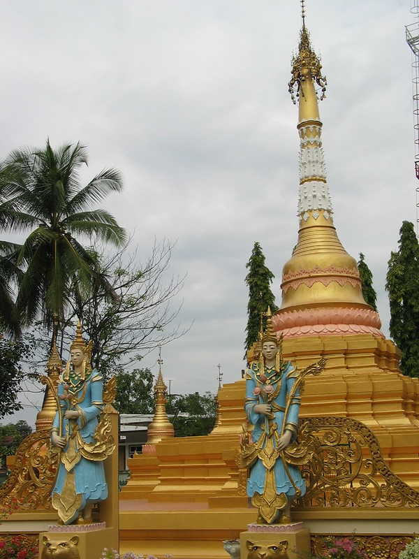 Within the grounds of Wat Sa Bor Keaw, Phrae, northern Thailand