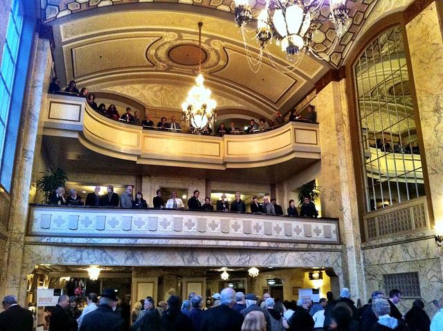 Arlene Schnitzer Concert Hall Lobby