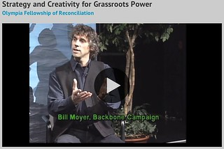 TV interview on