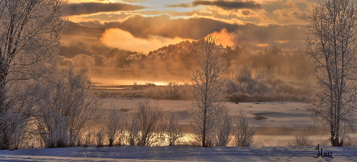 morning winter cloud mist snow cold fog sunrise river landscape photography early snake idaho snakeriver 2012 jenniferhall