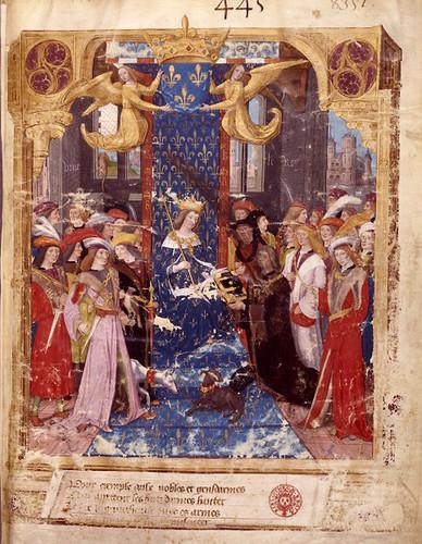 001-Le libre des tournois…1460- René d' Anjou-Français 2692, fol. 1- Portada del libro