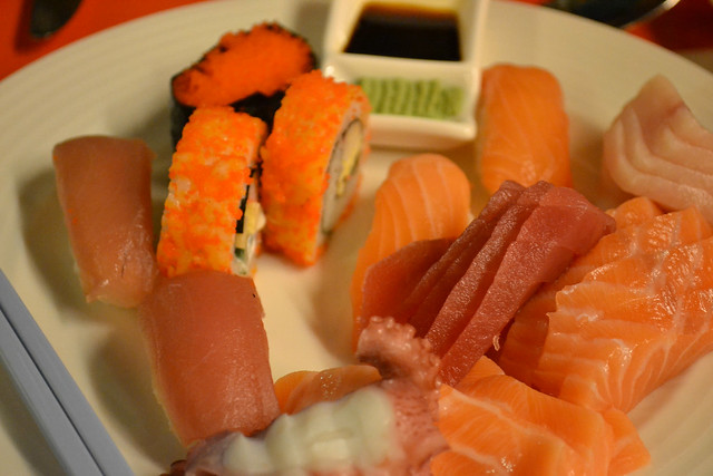 Sashimi and Sushi, The Line, Shangri-la Hotel