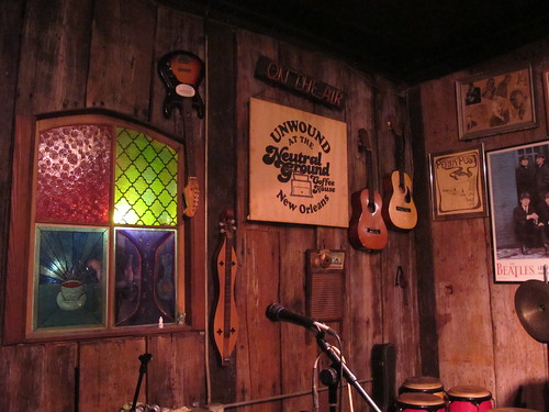 The Neutral Ground coffeehouse also serves as a live music venue throughout the week. Photo by Briana Prevost