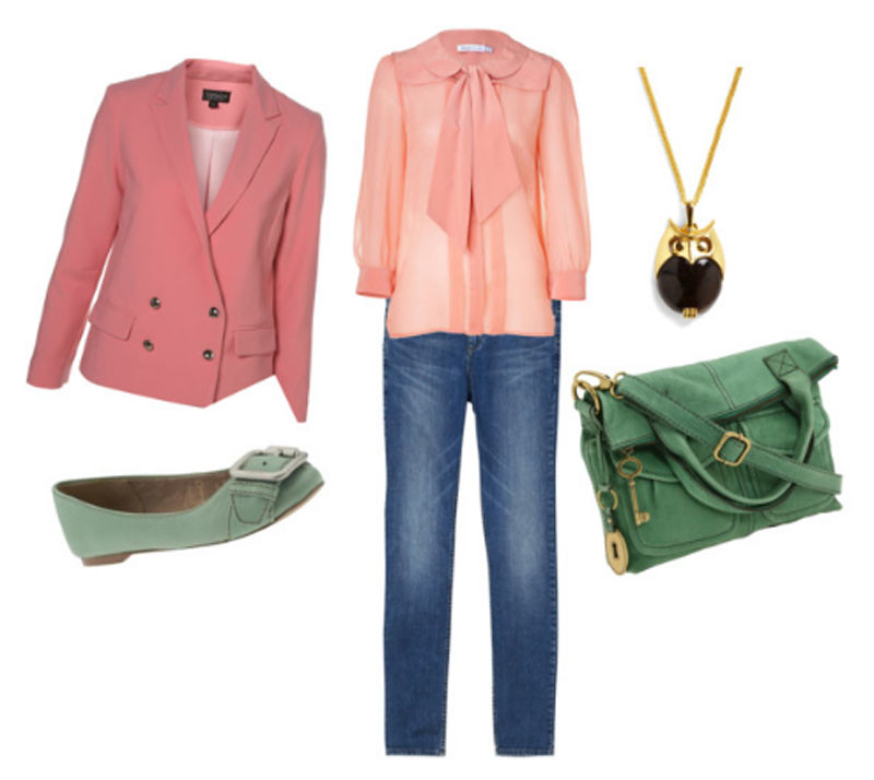 pastel clothing for spring 2012 trends