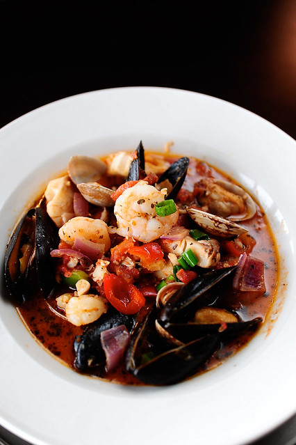 Cioppino Italian seafood stew Gumbo Bar, 2105 Postoffice Historic ...