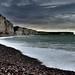 Tempête sur les falaises de Fécamp ©Filip42