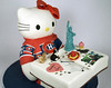 N1007 - 3D hello kitty cake toronto
