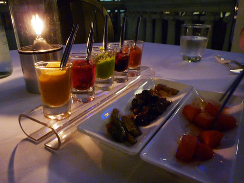 sauces by candlelight @ Breeze