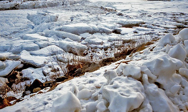 Ice on the River