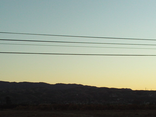 Southern California At Sunset