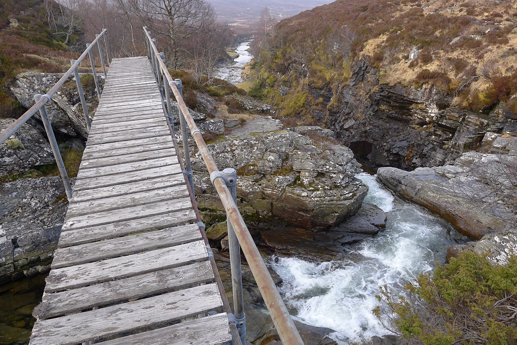 Footbridge over the Eidart