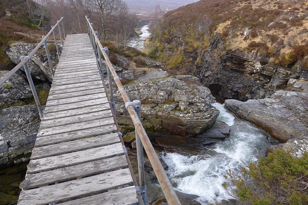 Footbridge over the Eidart