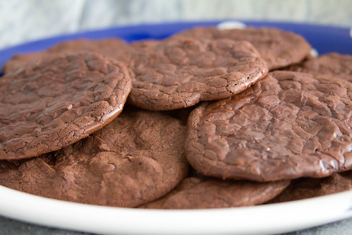 Flourless Fiery Fudge cookies :)