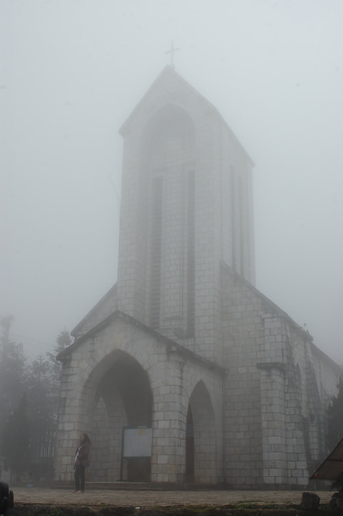 The Rock Church in Sapa