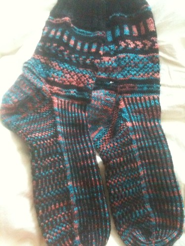 Tucson Nights socks fini