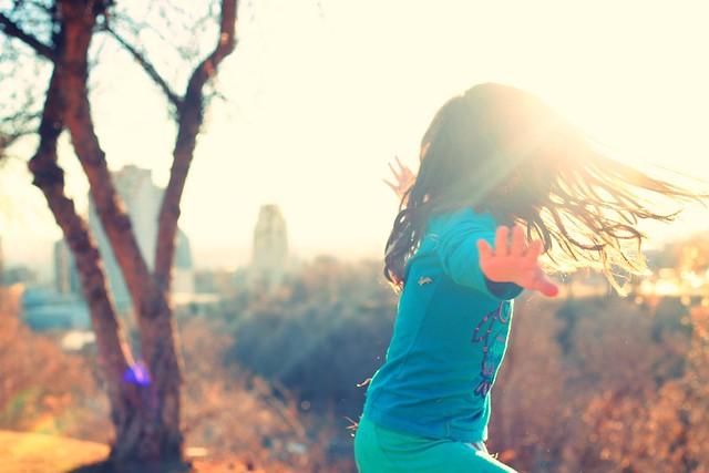 Twirly Girl (40:365)