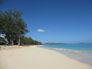 Waimanalo Beach North side during the day