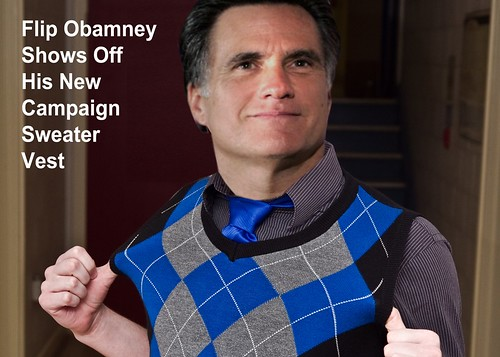 OBAMNEY'S NEW VEST by Colonel Flick