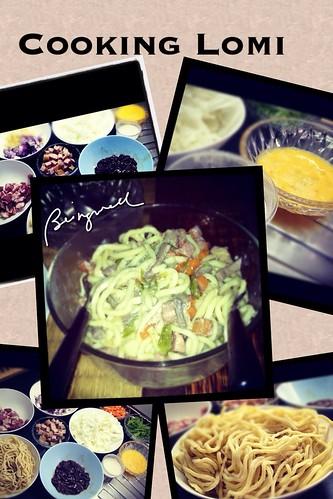Cooking Pancit Lomi