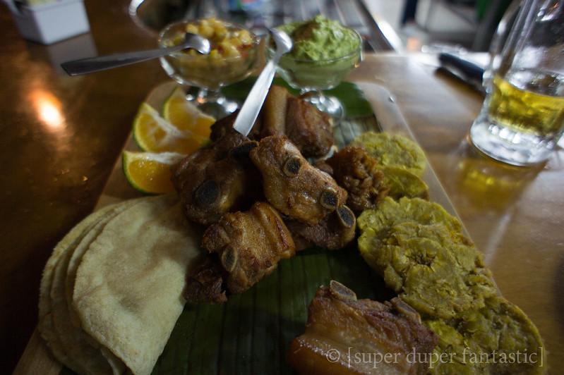 Meals in Costa Rica - Los Borregos - La Fortuna/Arenal