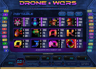free Drone Wars slot mini symbol