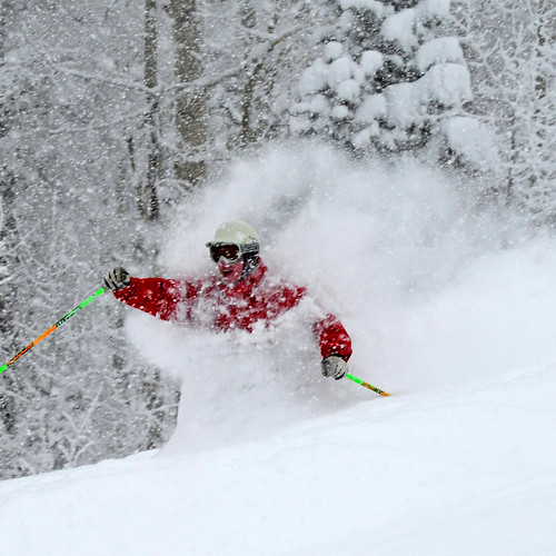 Powder Day at Wolf Creek Ski Area