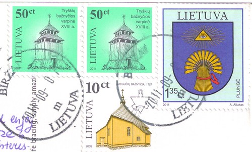 Lithuania Stamps