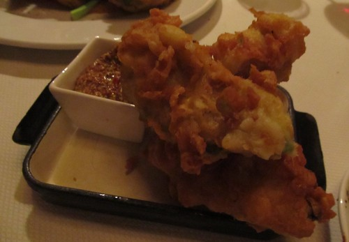 Avocado tempura - Dinner at the Windsor Arms