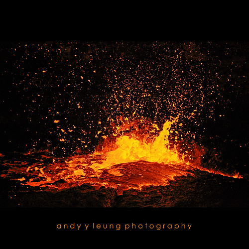 Amazing Lava Exploding by andyyleung