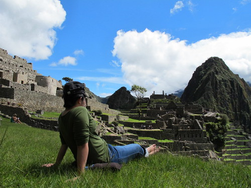 Pinay on top of Machu Picchu3