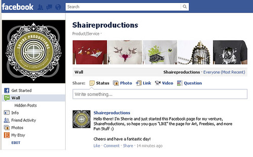 Shaireproductions on Facebook