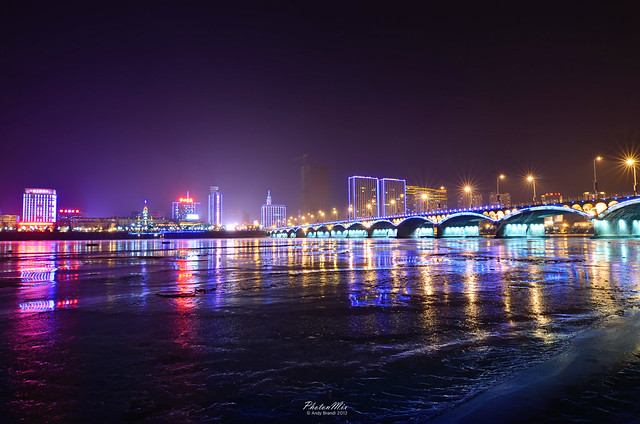 Jilin City China  City pictures : Jilin City China Cityscape