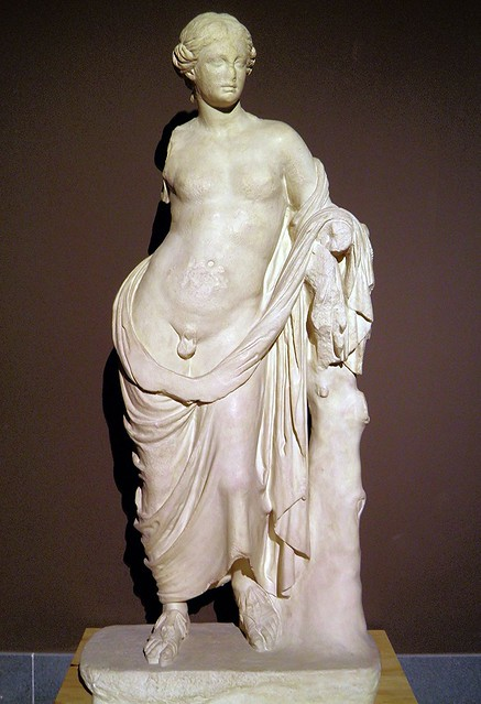 Statue of Hermaphroditus, ca. 180 BC, Pergamon: Panorama of the Ancient City Exhibition, Pergamon Museum, Berlin