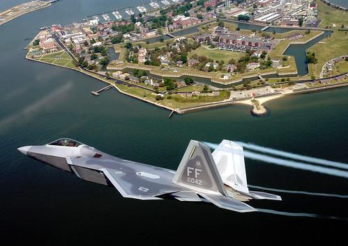 Lockheed Martin F-22 Raptor USAF Photo