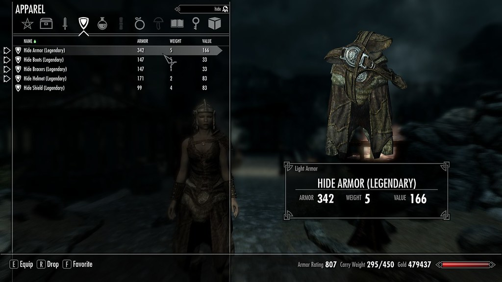 could I get Max armor rating by using only hide armor? | Skyrim Forums