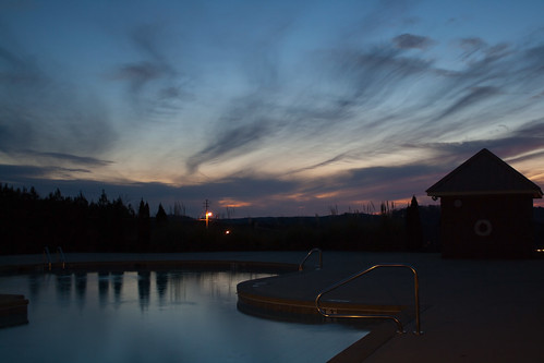 Pool after Sunset