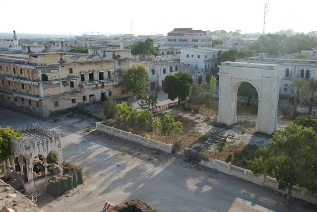 Downtown Mogadishu