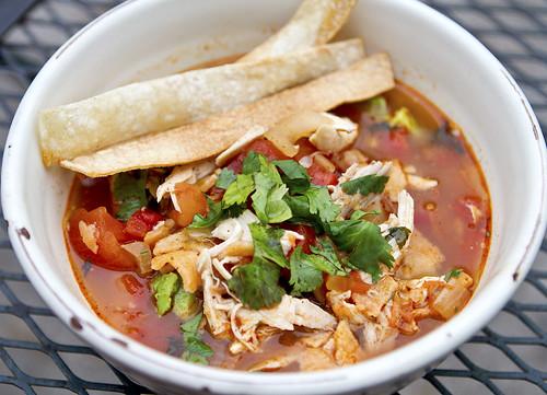famous tortilla soup
