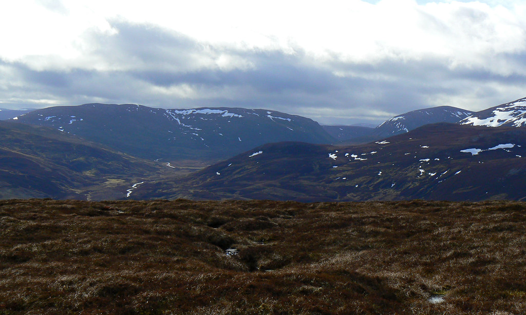 Looking down Glen Gairn