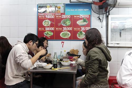 Nha Hang's Menu - all eel, all the time