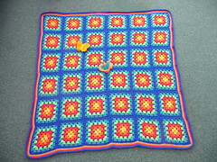 This 2nd Blanket was in Memory of Mary.