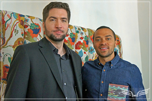 The Establishing Shot: Drew Goddard & Jesse Williams talk The Cabin In The Woods - The Soho Hotel, London by Craig Grobler