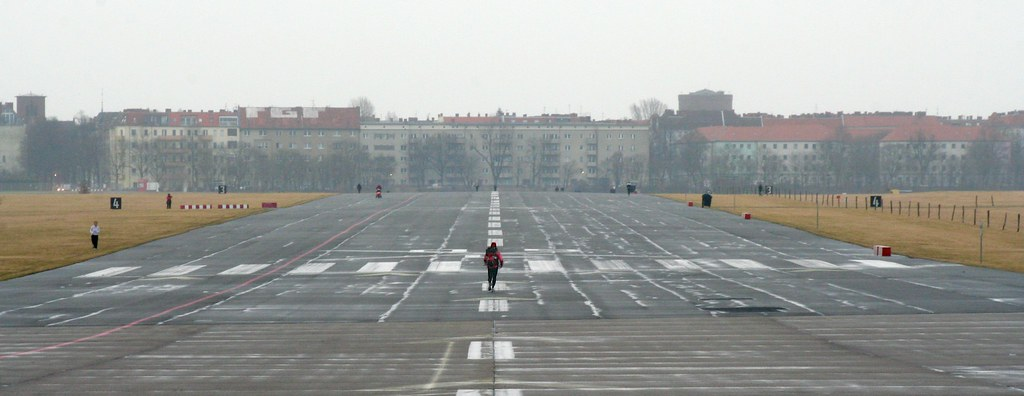 Tempelhof Airport, Runway 09 Left by Andrey Belenko, on Flickr