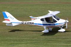 G-CONA - 2009 build Flight Design CTLS, Barton based