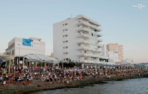 Sun Set strip Ibiza
