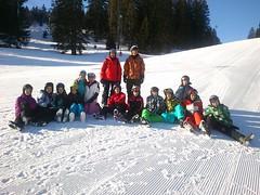 Die Skifahrer